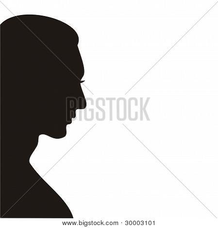 Profile Of Men.eps