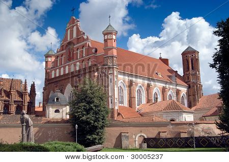 Bernardine Church In Vilnius