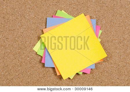 Auflistung der verschiedenen Hinweis Dokumente zur Pinnwand