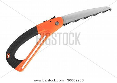 Garden With A Rubber Grip Hacksaw