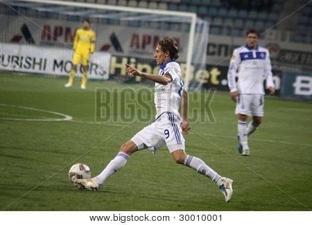 Denys Garmash Of Dynamo Kyiv Controls A Ball