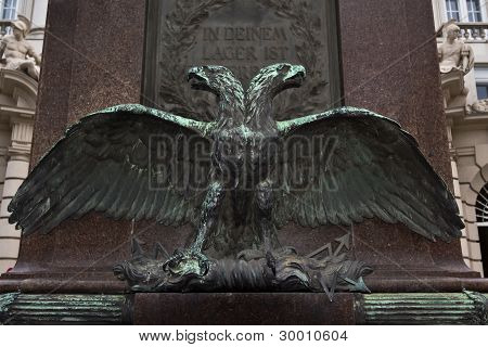 Majestic Double Headed Eagle Monument