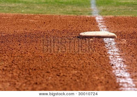 Baseball Field at First Base