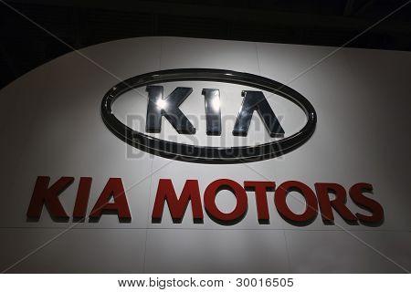 Kia Logo Sign