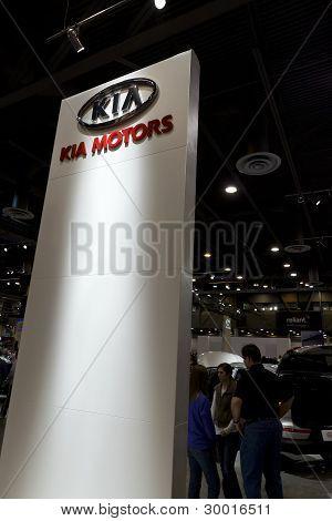 Kia Motors Sign