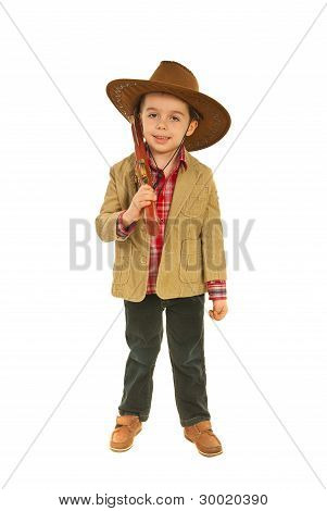 Relaxed Little Cowboy