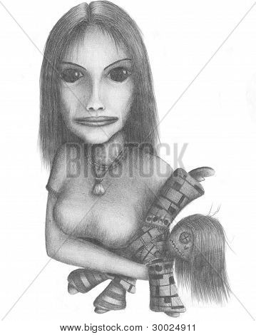 Girl With A Doll N.3