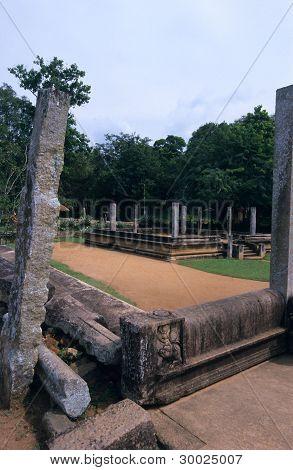 Mahasen Palace, Anuradhapura Sri Lanka