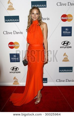 LOS ANGELES - FEB 11:  Tamara Braun arrives at the Pre-Grammy Party hosted by Clive Davis at the Beverly Hilton Hotel on February 11, 2012 in Beverly Hills, CA