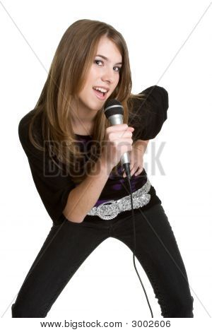 Teen Girl Singer