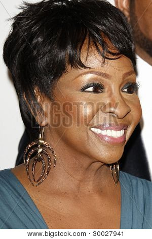 LOS ANGELES - FEB 11:  Gladys Knight arrives at the Pre-Grammy Party hosted by Clive Davis at the Beverly Hilton Hotel on February 11, 2012 in Beverly Hills, CA