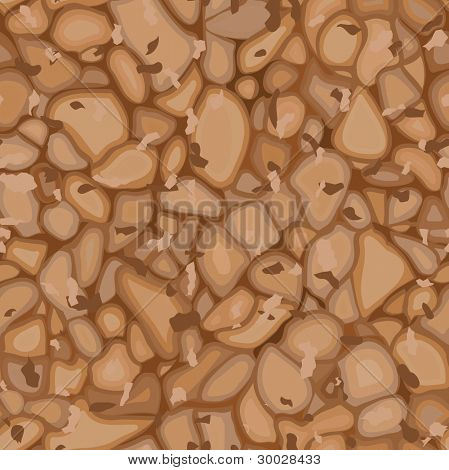 Seamless cork texture. Vector illustration