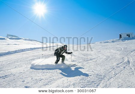 Drifting on snow