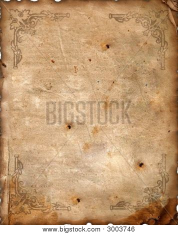 Vintage Background - Altpapier.
