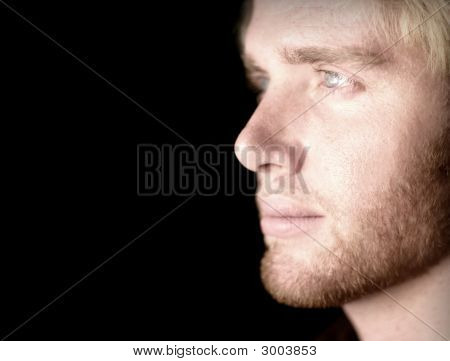 Male Face Vision