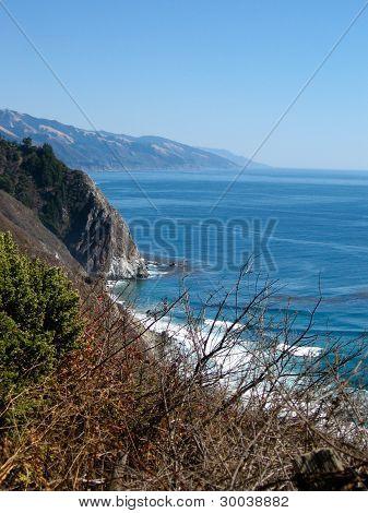 Big Sur cliffs