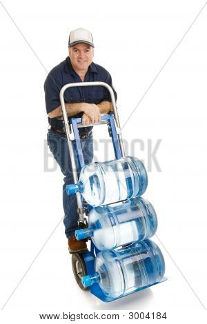 Water Delivery Man - Friendly