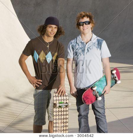 Hanging Out At Skatepark