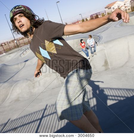 Tricks At The Skatepark