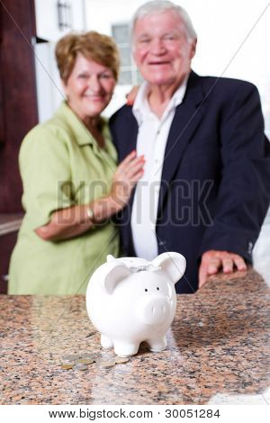 retirement savings for senior couple
