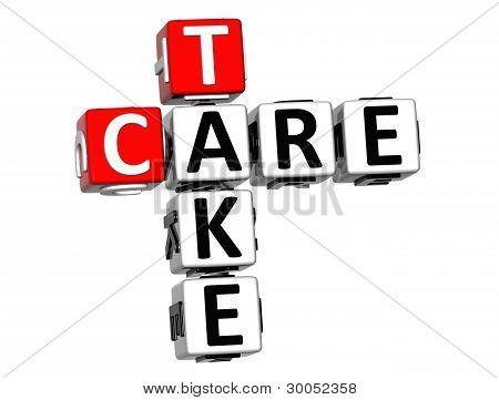 3D Take Care Crossword