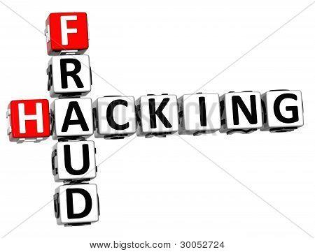 3D Hacking Fraud Crossword