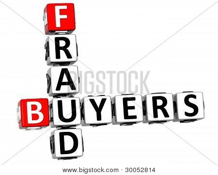 3D Buyers Fraud Crossword