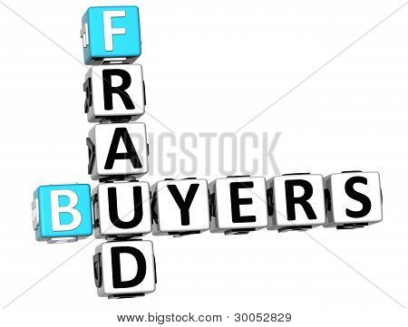 3D Buyers Fraud Crossword