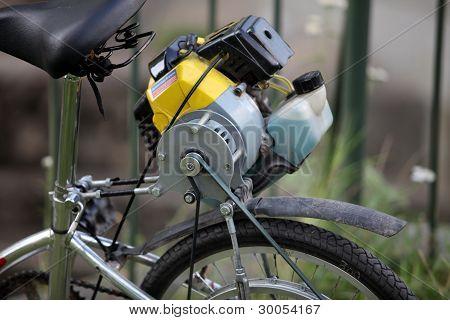 homemade moped