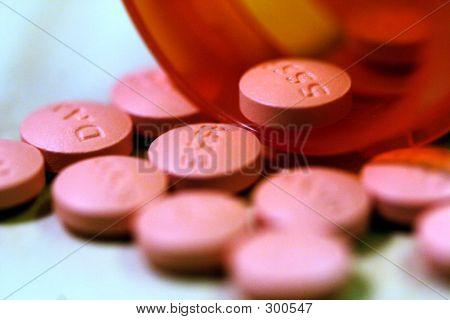 Píldoras derramadas
