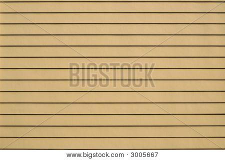 Pattern - Yellow Siding On A House Wall