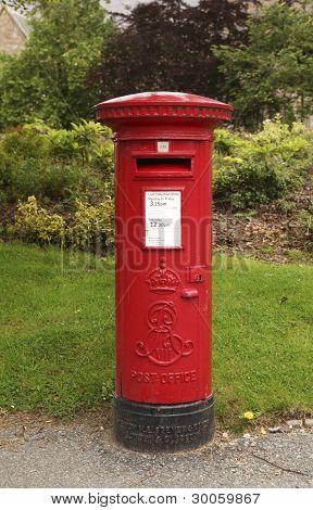 English Postbox