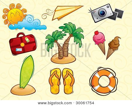 Vacation Vector Pack