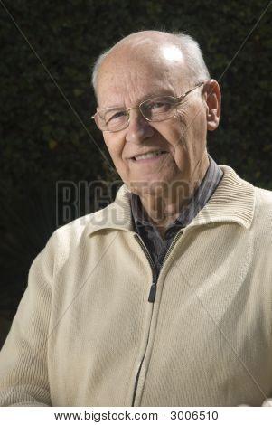 Close-Up Of A Senior Man