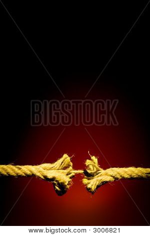 Frayed Rope Breaking