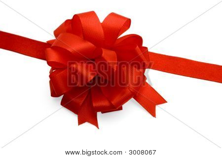 Gift ribbon and bow
