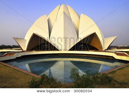Lotus/Bahai Temple(3), Delhi, India