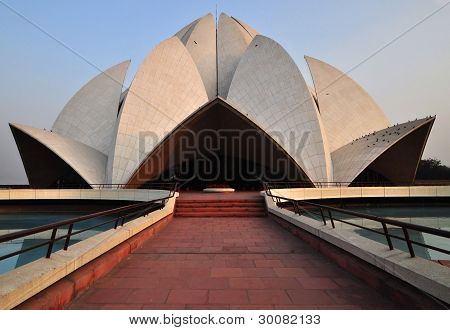 Lotus/Bahai Temple(2), Delhi, India