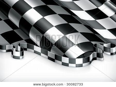 Checkered Background, vector