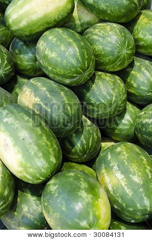 Group of Watermelons
