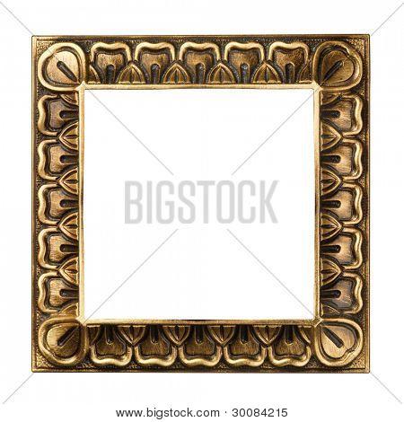 Vintage gold ornate frame