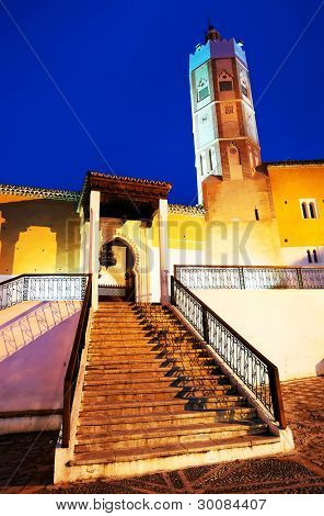 Mosque in Chefchaouen, Morocco, Africa