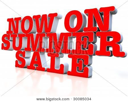 now on Summer sale
