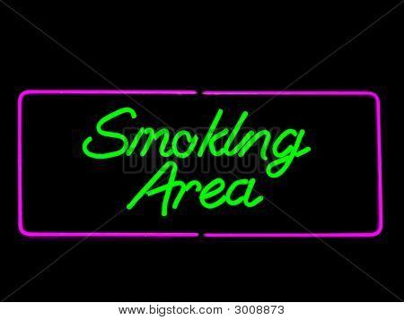 Área específica para fumar