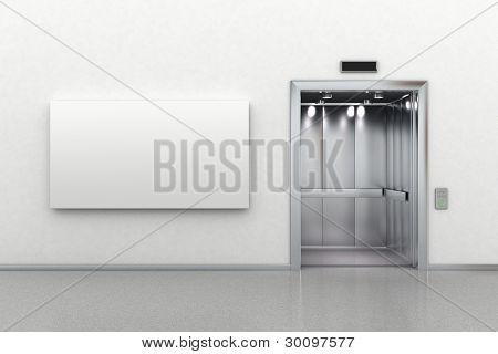 Abra o elevador e Billboard