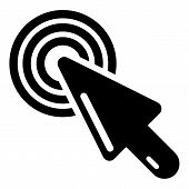 Cursor Mouse Icon. Simple Illustration Of Cursor Mouse Icon For Web poster