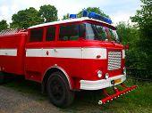Постер, плакат: Пожарная машина
