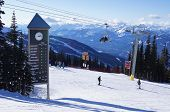 Blackcomb Mountain Slopes