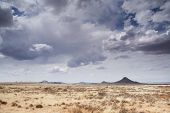 foto of semi-arid  - Landscape of typical Karoo scenery - JPG