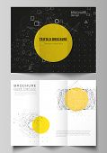 The Minimal Vector Layouts. Modern Creative Covers Design Templates For Trifold Brochure Or Flyer. S poster